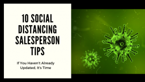 10 Social Distancing Tips for Salespeople