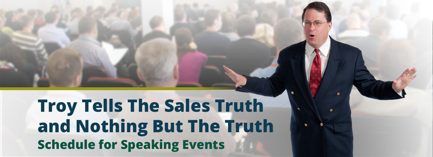 Schedule Troy Harrison for Your Speaking Event